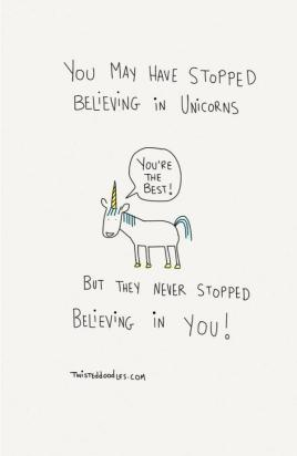 Unicorn belief